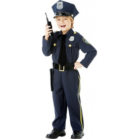 Parti Paketi Polis Kostümü Ve Aksesuarları, 4-6 Yaş Erkek Çocuk Kostümleri