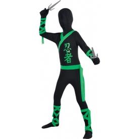 Parti Paketi Ninja Parti Kostümü, 6-7 Yaş Erkek Çocuk Kostümleri