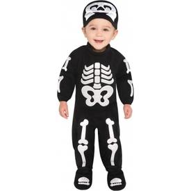 Parti Paketi Sevimli Iskelet Kostümü, 6-12 Ay Bebek Kostümleri