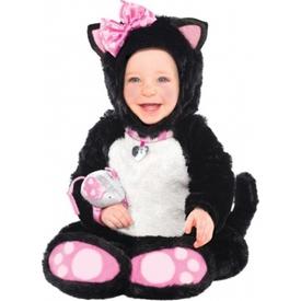 Parti Paketi Sevimli Kedicik Kostümü, 6-12 Ay Bebek Kostümleri