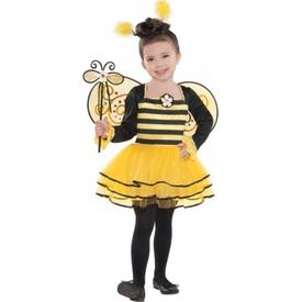 Parti Paketi Arı Balerin Kostümü, 3-4 Yaş Kız Çocuk Kostümleri