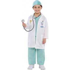 Parti Paketi Doktor Kostümü Ve Aksesuarları, 4-6 Yaş Genel Çocuk Kostümleri