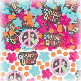 Parti Paketi Hippie Chick, Konfeti Parti Konfetisi