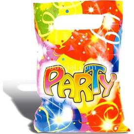 Parti Paketi Balonlar Ve Konfetiler, Hediye Poşeti