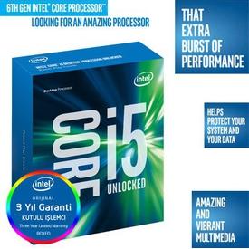 Intel Core i5-6600K Dört Çekirdek