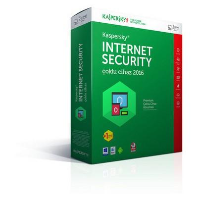 Kaspersky Internet Securıty Md 2016 Tr 2 Kullanıcı Retaıl Kutu Güvenlik Yazılımı
