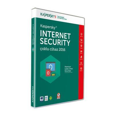 Kaspersky Internet Securıty Md 2016 Tr 2 Kullanıcı Dvd Kutu Güvenlik Yazılımı