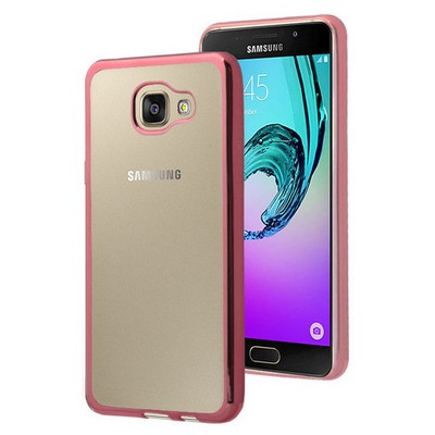Microsonic Samsung Galaxy A9 2016 Kılıf Flexi Delux Rose Cep Telefonu Kılıfı