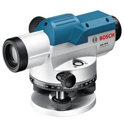 Bosch GOL 20 D (BT 160 + GR 500) Optik Nivelman