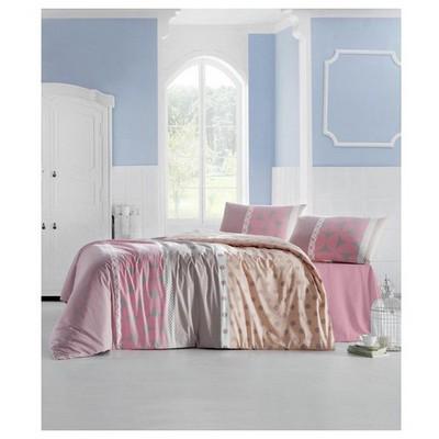 Altınbaşak Aleda Uyku Seti Çift Kişilik - Pembe Ev Tekstili