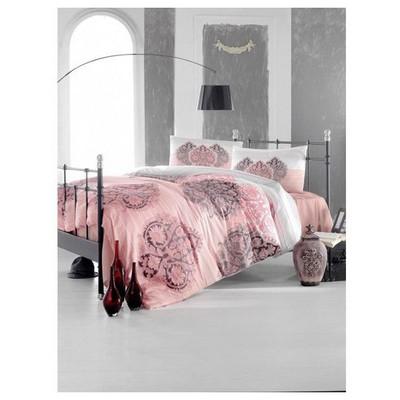 Altınbaşak Leyan Uyku Seti Çift Kişilik - Nar Çiçeği Nevresim Takımı