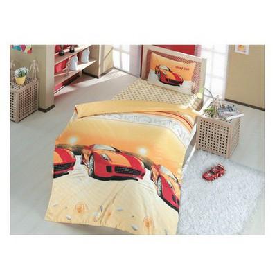 Altınbaşak Speed Time Genç Uyku Seti - Kırmızı Nevresim Takımı