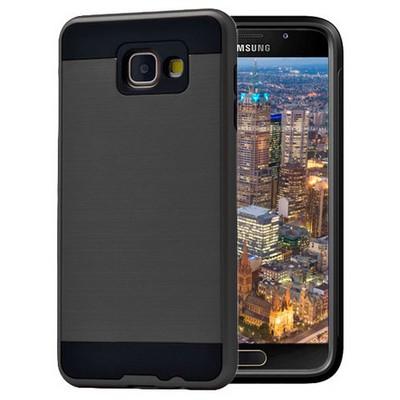 Microsonic Samsung Galaxy A7 2016 Kılıf Slim Heavy Duty Siyah Cep Telefonu Kılıfı