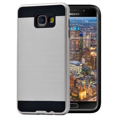 Microsonic Samsung Galaxy A3 2016 Kılıf Slim Heavy Duty Gümüş Cep Telefonu Kılıfı
