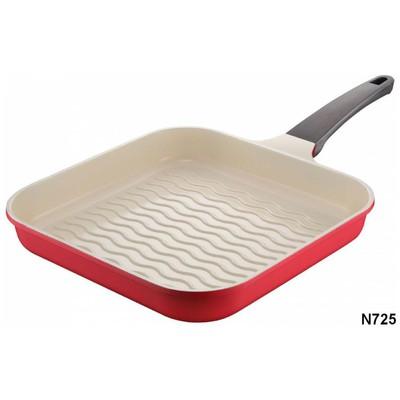 Neva N725 Sweet Ceramic Grill  28 cm - Kırmızı Tava