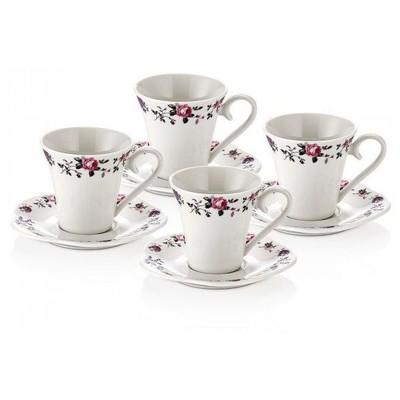 Neva N743 Alvita 4'lü Kahve Fincanı Seti Çay Seti