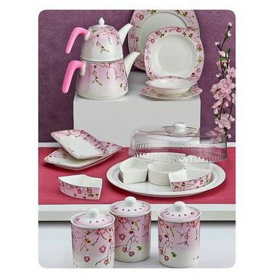 Neva N993 Lovinya 42 Parça Porselen Mutfak Seti Kahvaltı Takımı