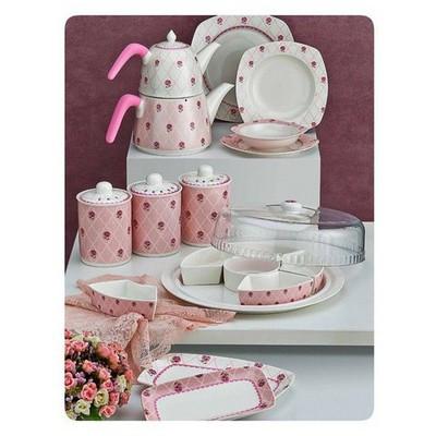 Neva N994 Serenna 42 Parça Porselen Mutfak Seti Kahvaltı Takımı