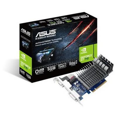 Asus GeForce GT 710 Silent 1G Ekran Kartı