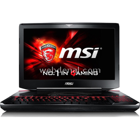 MSI GT80S 6QF-229TR Titan SLI Gaming Laptop