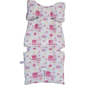 Sevi Bebe 8376 Bebek Puset Minderi Pembe Bebek Arabası Aksesuarı