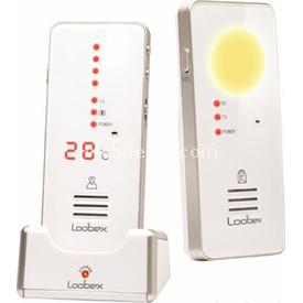 Loobex 2624 Dijital Bebek Telsizi Beyaz Bebek Güvenliği