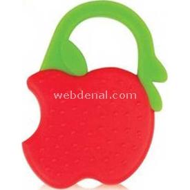 Bebedor 513 Meyve Dişlik Kırmızı Elma Dişlik & Çıngırak