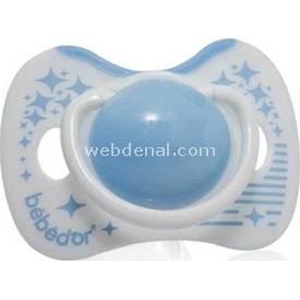 Bebedor 103 Yumuşak Kiraz Emzik +18 Ay Mavi Bebek Besleme