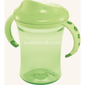 NUK 750595 Easy Learning Cup No 2 Yeşil Alıştırma Bardağı