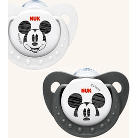 NUK Disney Mickey Silikon Emzik No:1 (ikili) Siyah Bebek Besleme