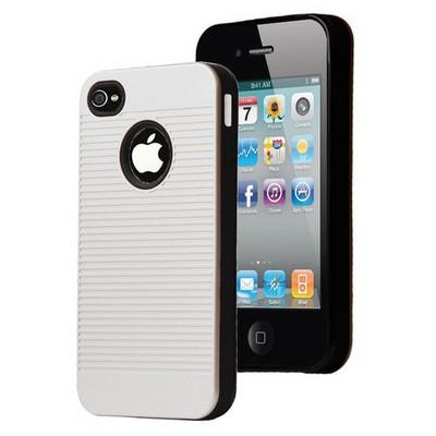 Microsonic Iphone 4s Kılıf Linie Anti-shock Beyaz Cep Telefonu Kılıfı