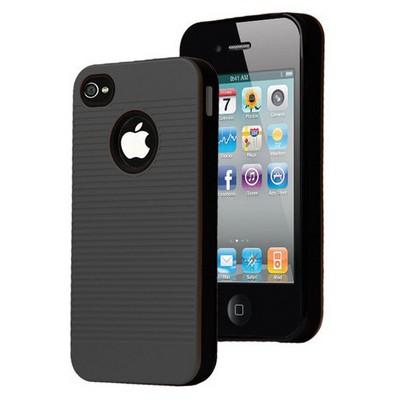 Microsonic Iphone 4s Kılıf Linie Anti-shock Siyah Cep Telefonu Kılıfı