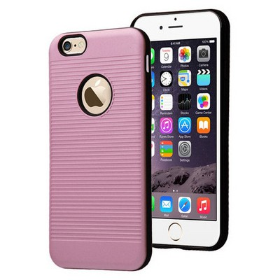 Microsonic Iphone 6s Plus Kılıf Linie Anti-shock Pembe Cep Telefonu Kılıfı