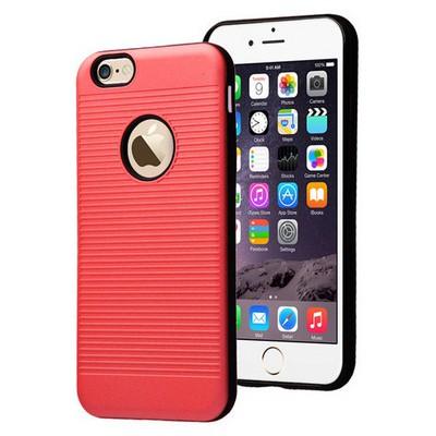 Microsonic Iphone 6s Plus Kılıf Linie Anti-shock Kırmızı Cep Telefonu Kılıfı