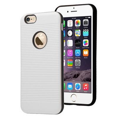 Microsonic Iphone 6s Plus Kılıf Linie Anti-shock Beyaz Cep Telefonu Kılıfı