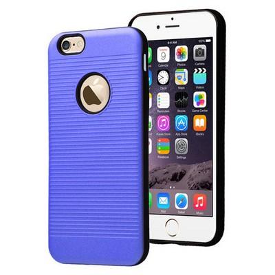 Microsonic Iphone 6s Kılıf Linie Anti-shock Mavi Cep Telefonu Kılıfı
