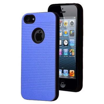 Microsonic Iphone 5s Kılıf Linie Anti-shock Mavi Cep Telefonu Kılıfı