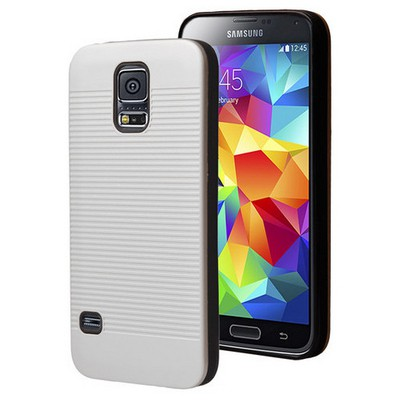 Microsonic Samsung Galaxy S5 Kılıf Linie Anti-shock Beyaz Cep Telefonu Kılıfı