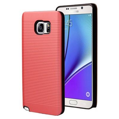 Microsonic Samsung Galaxy Note 5 Kılıf Linie Anti-shock Kırmızı Cep Telefonu Kılıfı