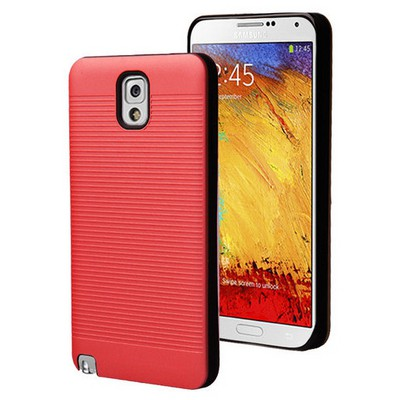 Microsonic Samsung Galaxy Note 3 Kılıf Linie Anti-shock Kırmızı Cep Telefonu Kılıfı