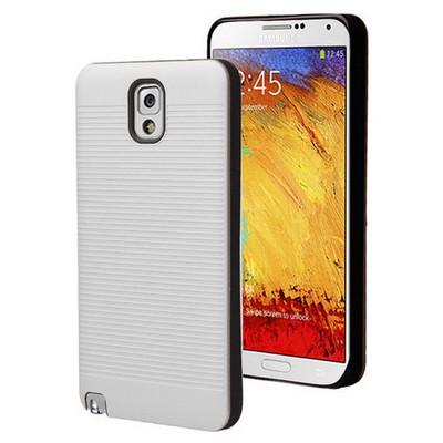 Microsonic Samsung Galaxy Note 3 Kılıf Linie Anti-shock Beyaz Cep Telefonu Kılıfı