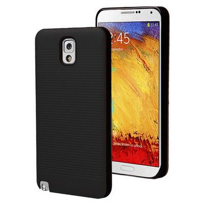 Microsonic Samsung Galaxy Note 3 Kılıf Linie Anti-shock Siyah Cep Telefonu Kılıfı