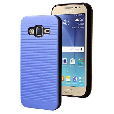Microsonic Samsung Galaxy J2 Kılıf Linie Anti-shock Mavi Cep Telefonu Kılıfı