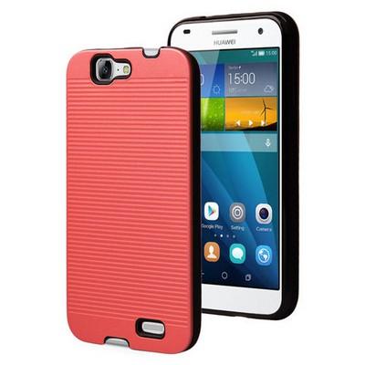 Microsonic Huawei Ascend G7 Kılıf Linie Anti-shock Kırmızı Cep Telefonu Kılıfı