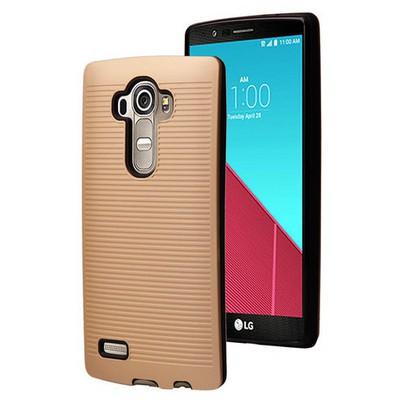 Microsonic Lg G4 Kılıf Linie Anti-shock Gold Cep Telefonu Kılıfı