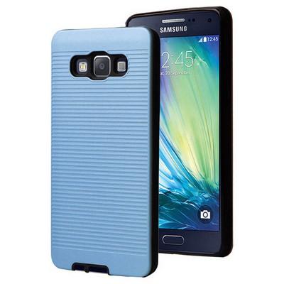 Microsonic Samsung Galaxy A7 Kılıf Linie Anti-shock Mavi Cep Telefonu Kılıfı