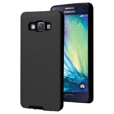 Microsonic Samsung Galaxy A7 Kılıf Linie Anti-shock Siyah Cep Telefonu Kılıfı