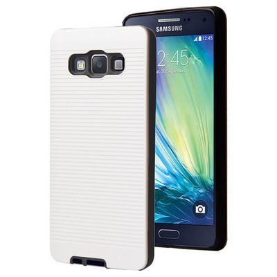 Microsonic Samsung Galaxy A5 Kılıf Linie Anti-shock Beyaz Cep Telefonu Kılıfı