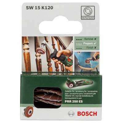 Bosch PRR - Flexible Sanding Roll 15mm, grid 120  - 1600A00155