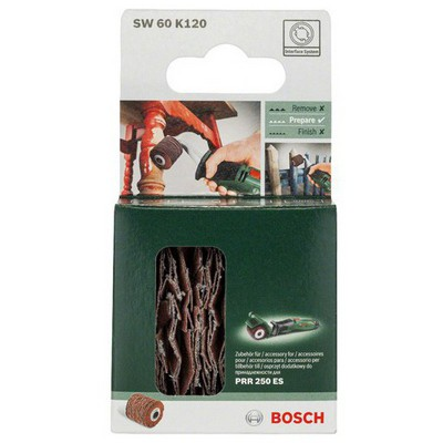 Bosch PRR - Flexible Sanding Roll 60mm, grid 120 - 1600A00153